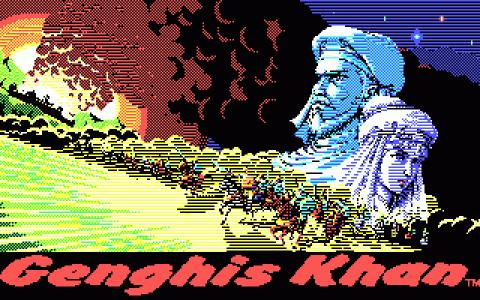 Genghis Khan - game cover