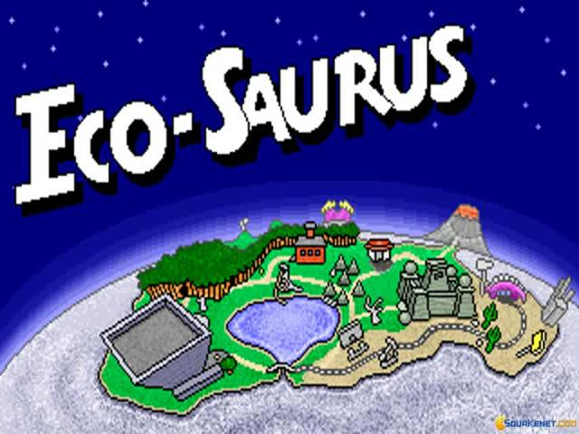 Eco-Saurus - title cover