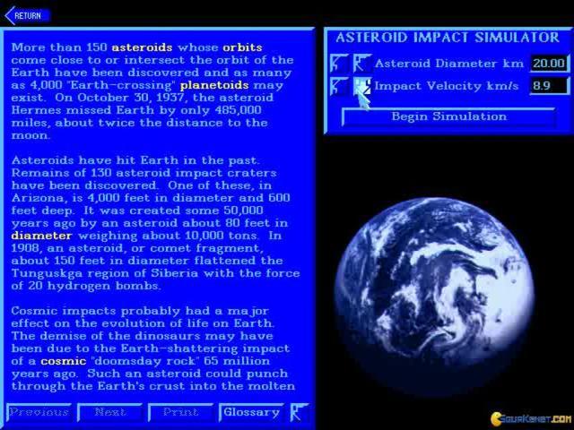 asteroid impact simulator - 640×480
