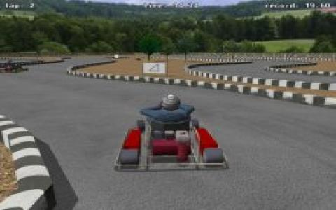 KartingRace - game cover