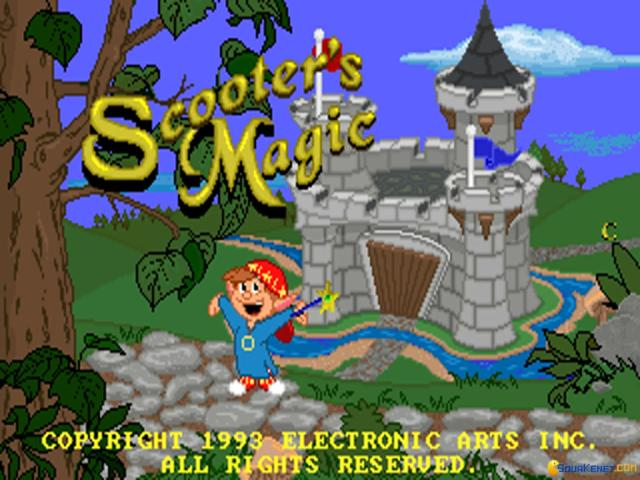 Scooter's Magic Castle - title cover