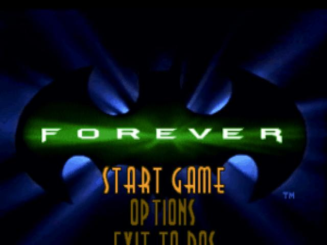 Batman Forever: the Arcade Game - title cover