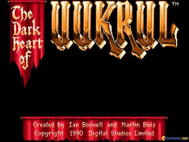 Dark Heart of Uukrul - title cover