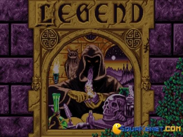 Legend - title cover