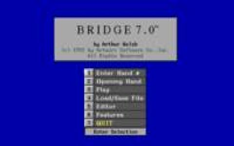 Bridge 7.0 - title cover