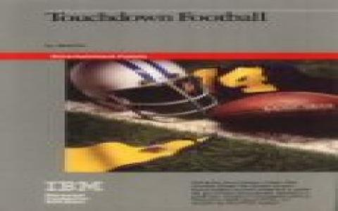 Touchdown Football - game cover