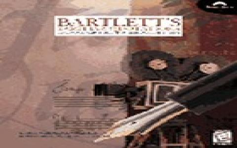 Bartlett's Familiar Quotations: Expanded Multimedia Edition - game cover