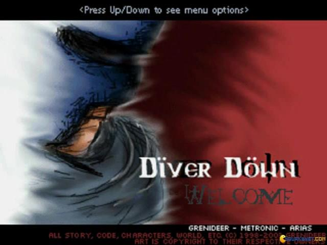 Diver Down - title cover