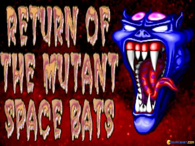 Return of the Mutant Space Bats of Doom - title cover