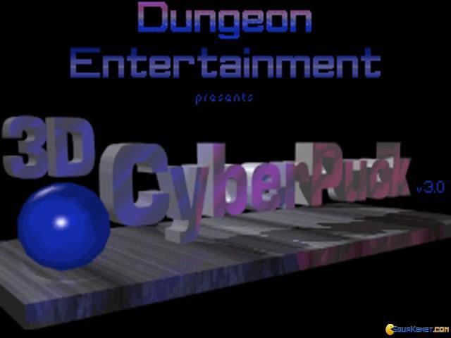 3D Cyberpuck - game cover
