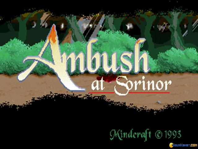 Ambush at Sorinor - title cover
