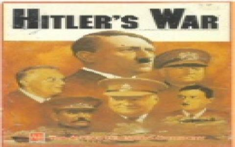 Hitler's War - title cover