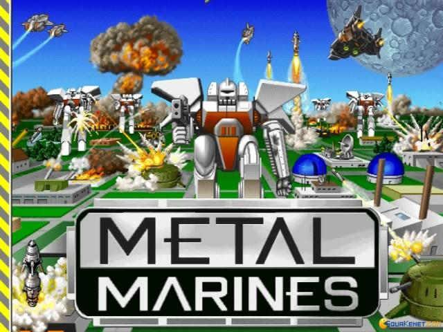 Metal Marines - game cover