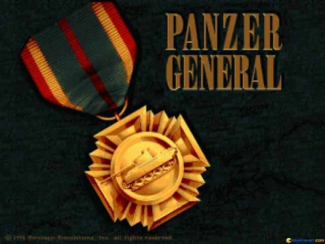Panzer General - title cover