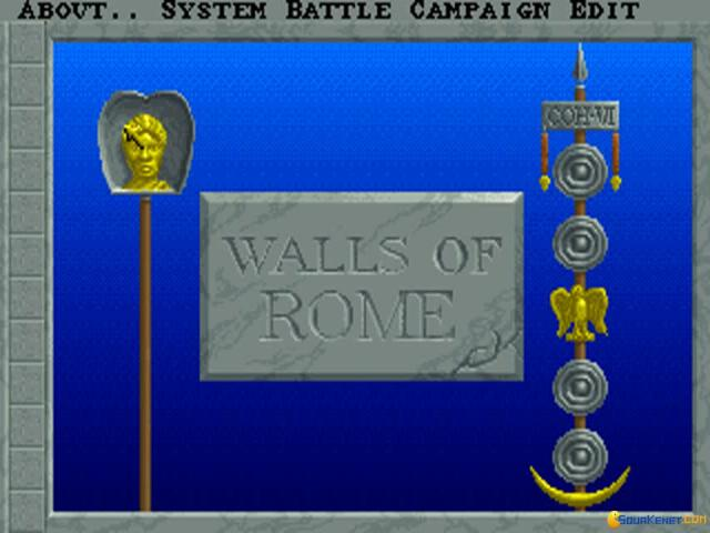 Walls of Rome - title cover