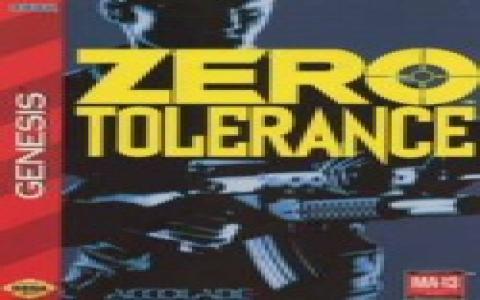 Zero Tolerance - game cover