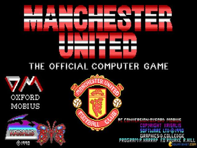 Manchester United: The Official Computer Game - title cover