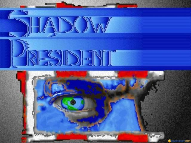 Shadow President - title cover