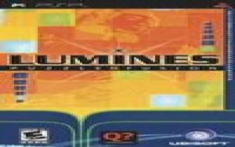 Lumines - title cover