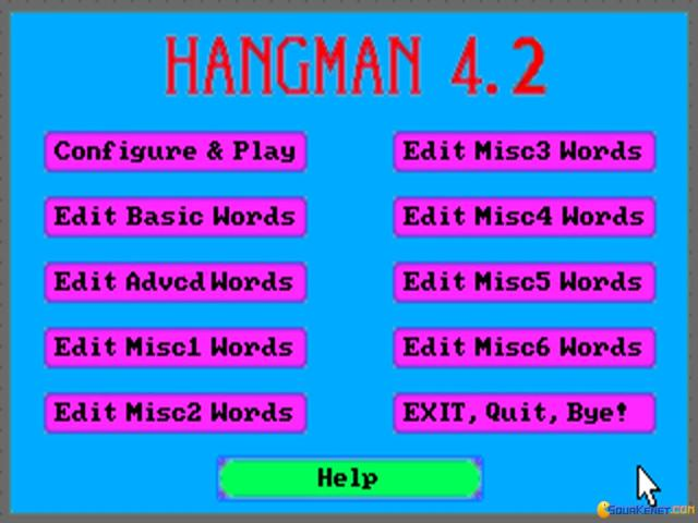 Hangman - title cover