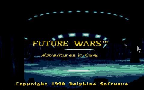 Future Wars - title cover