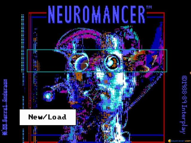 Neuromancer - game cover