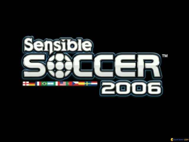 Sensible Soccer 2006 - game cover