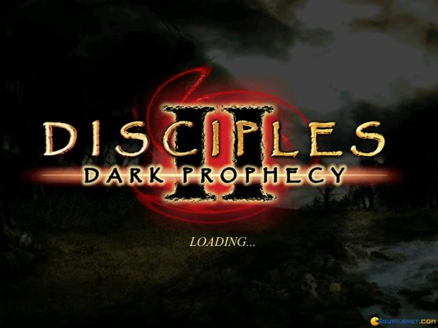 Disciples 2: Dark Profecy - title cover