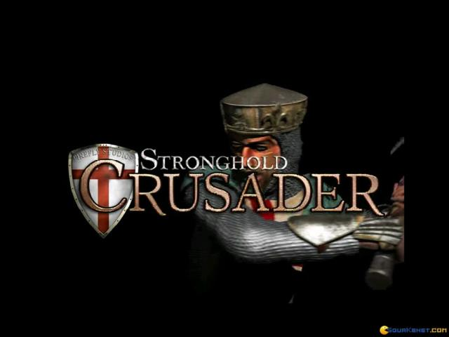 Stronghold Crusader - title cover