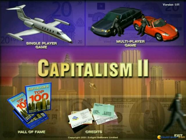 Capitalism 2 - game cover