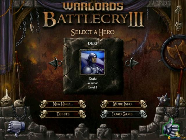 Warlords Battlecry 3 - title cover