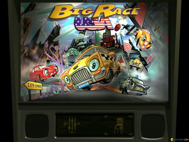 Pro Pinball Big Race USA - title cover