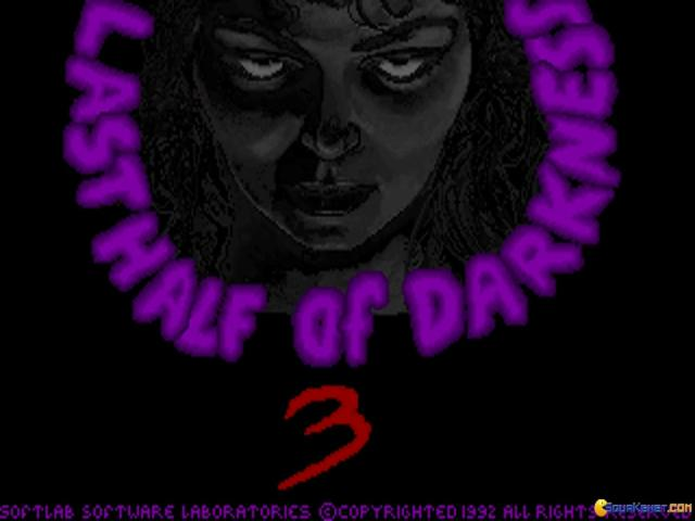 Last Half of Darkness III - game cover