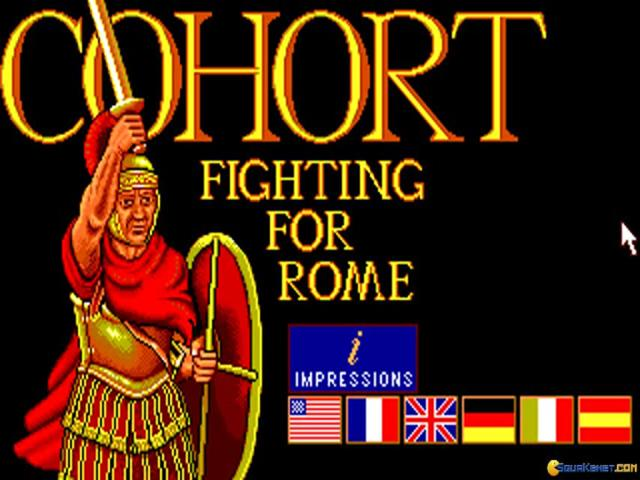 Cohort: Fighting For Rome - title cover