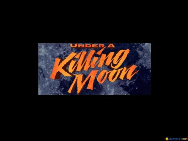 Tex Murphy: Under a Killing Moon - title cover