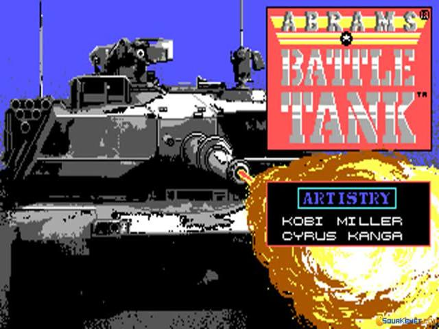 Abrams Battle Tank - title cover