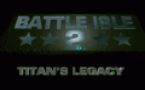Battle Isle 2 Scenery CD - Titan's Legacy - title cover