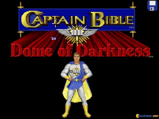 Captain Bible in the Dome of Darkness - title cover