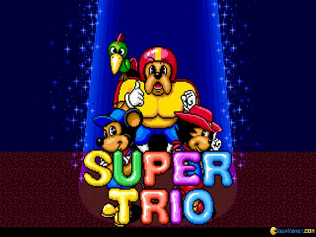 Super Trio - title cover
