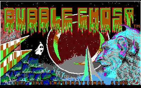 Bubble Ghost - title cover