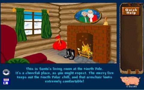 Santa's Secret Valley - title cover