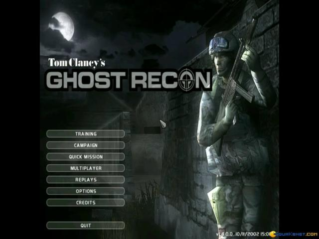 Ghost Recon - title cover
