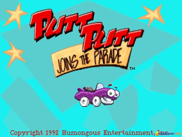 Putt-Putt Joins the Parade - title cover