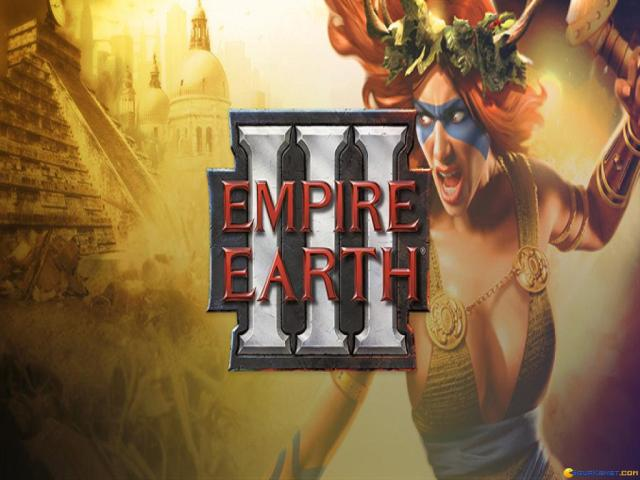 Empire Earth 3 - title cover