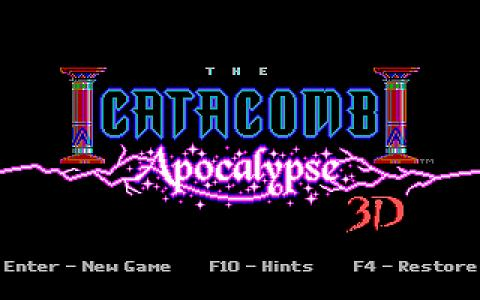 Catacomb Apocalypse - title cover