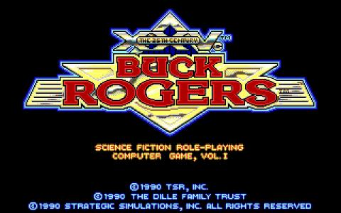 Buck Rogers - game cover