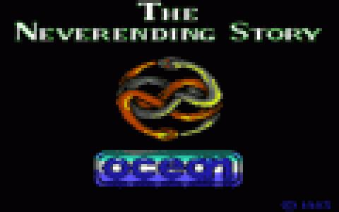 The Neverending Story - game cover