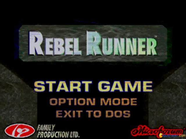 Rebel Runner - title cover