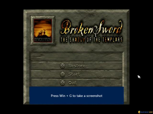 Broken Sword: Director's Cut - title cover