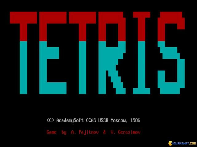 Tetris - game cover